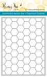 Hexagon Cover Plate Stitched