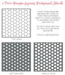 Hexagon Stencil Set