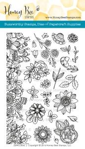 Zen Floral Stamp Set