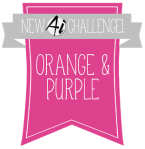 215 Orange & Purple