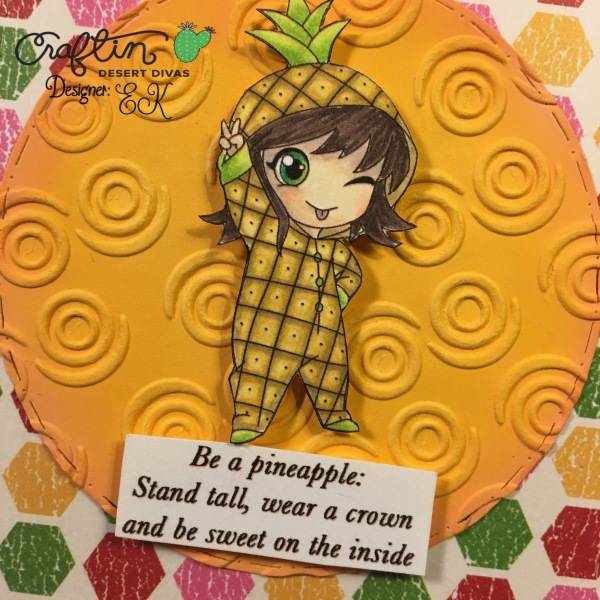EK Gorman CDD 9:6 pineapple 2