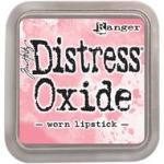 worn lipstick