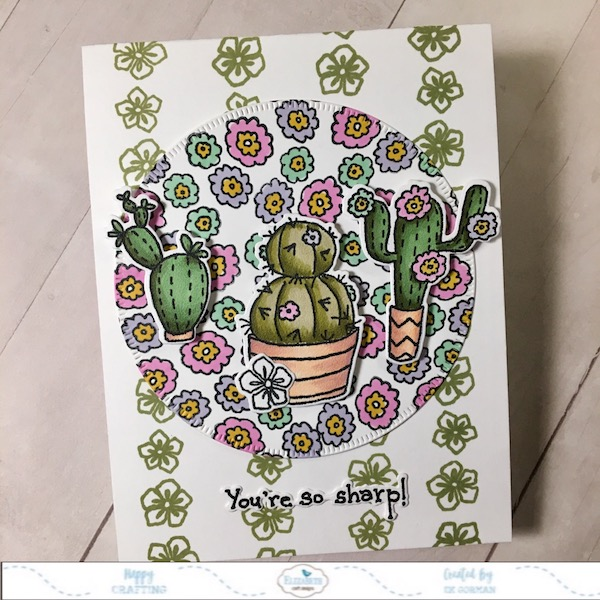 Ek Gorman Elizabeth Craft Designs Cacti a
