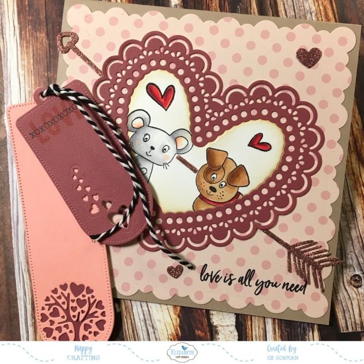 EK Gorman Elizabeth Craft Designs Valentine b