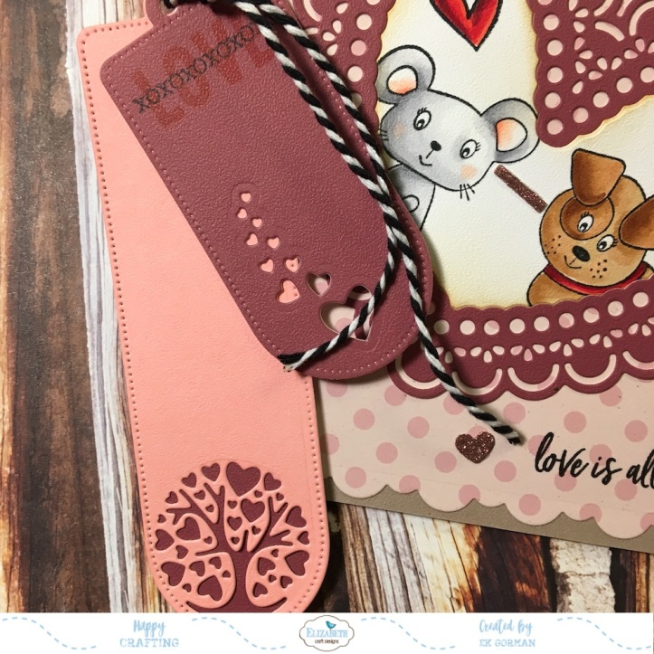 EK Gorman Elizabeth Craft Designs Valentine c