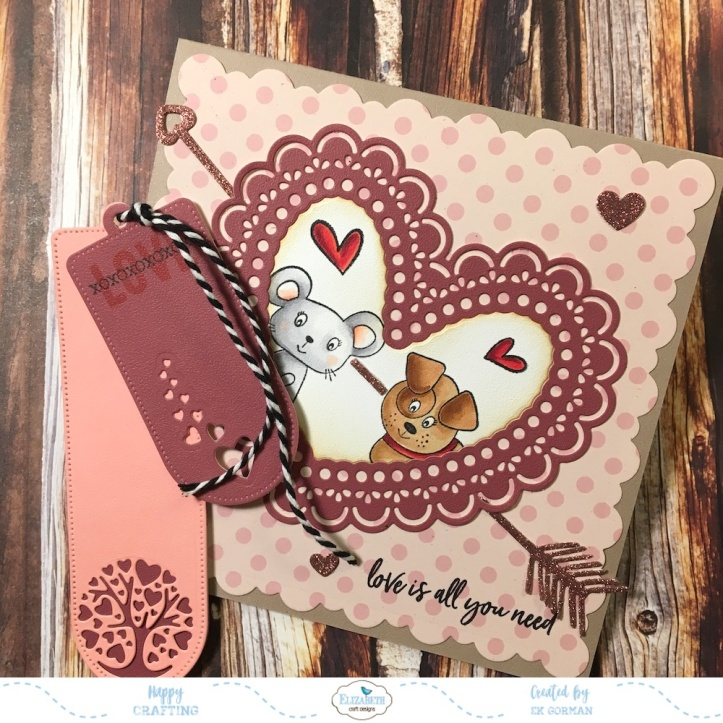EK Gorman Elizabeth Craft Designs Valentine d