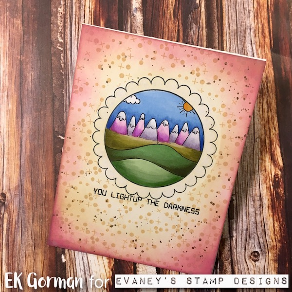EK Gorman, Evaney's Stamp Designs c