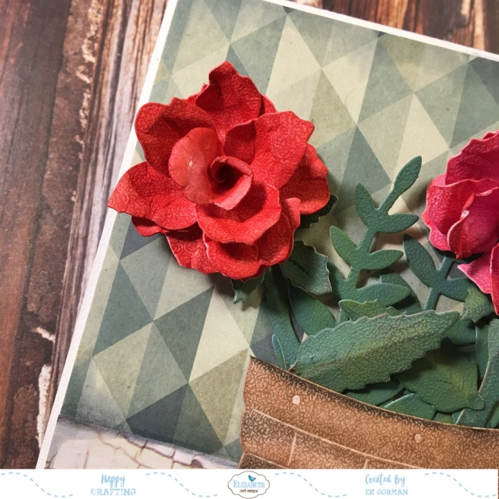 EK Gorman, Elizabeth Craft Designs, Susan's Garden Rose 3 c