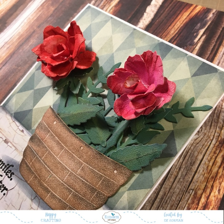 EK Gorman, Elizabeth Craft Designs, Susan's Garden Rose 3 g