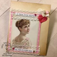 EK Gorman, White Rose Crafts, April Card Kit b