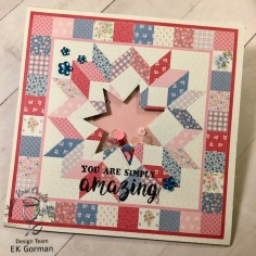 EK Gorman, White Rose Crafts, April Card Kit c