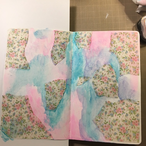 EK Gorman, White Rose Crafts Art Journal Page j
