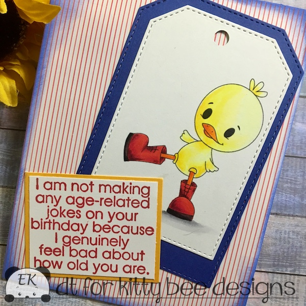 EK Gorman, Kitty Bee Designs, Aloha Friday Challenge 125 b