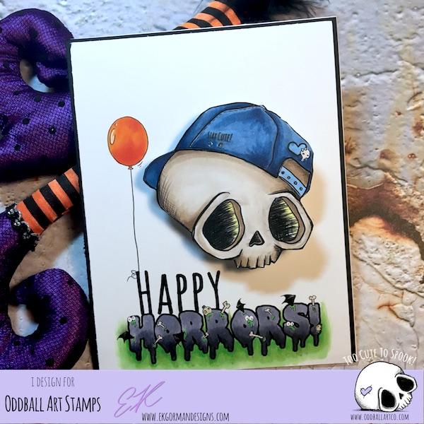 EK Gorman, Oddball Art Challenge a