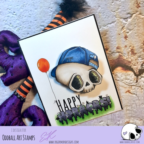 EK Gorman, Oddball Art Challenge d