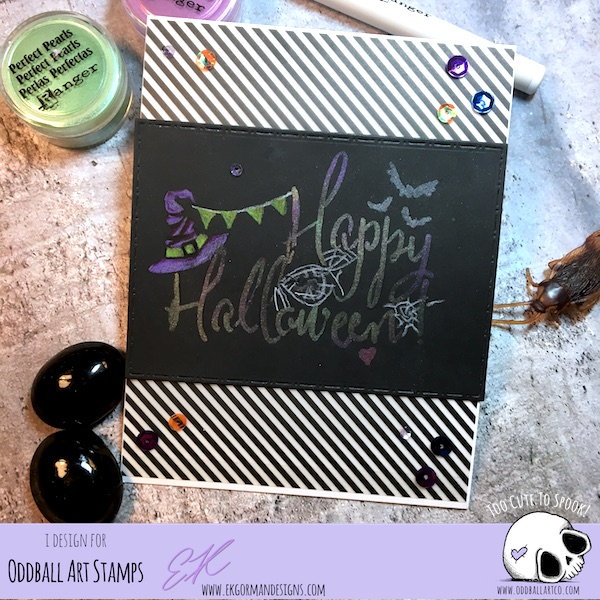 EK Gorman, Oddball Art Halloween 2018 d