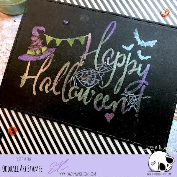 EK Gorman, Oddball Art Halloween 2018 e