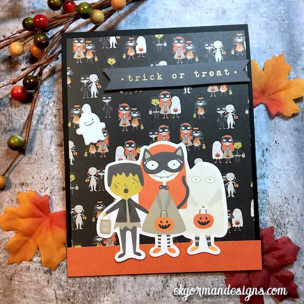 EK Gorman, SSS October Halloween Kit a