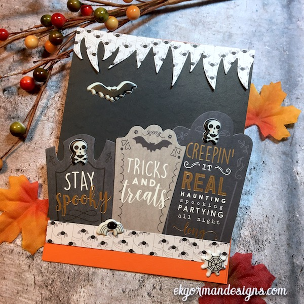 EK Gorman, SSS October Halloween Kit b