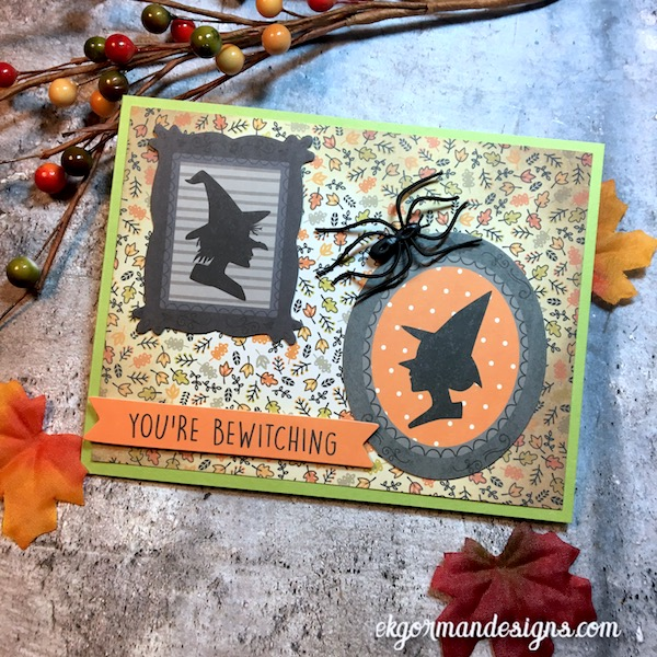 EK Gorman, SSS October Halloween Kit c