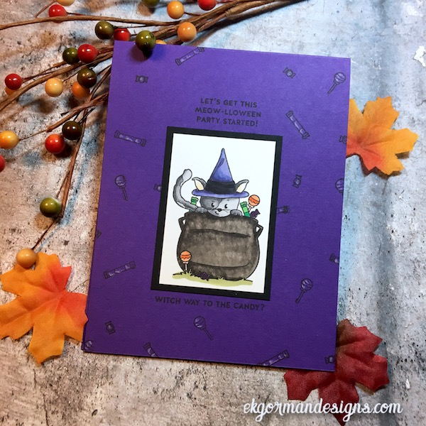 EK Gorman, SSS October Halloween Kit d