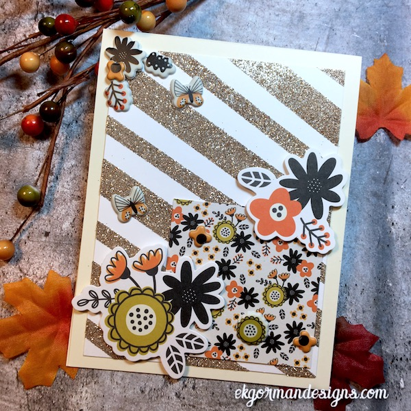 EK Gorman, SSS October Halloween Kit e