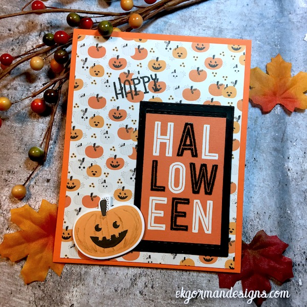 EK Gorman, SSS October Halloween Kit g