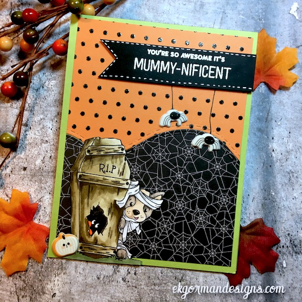 EK Gorman, SSS October Halloween Kit h