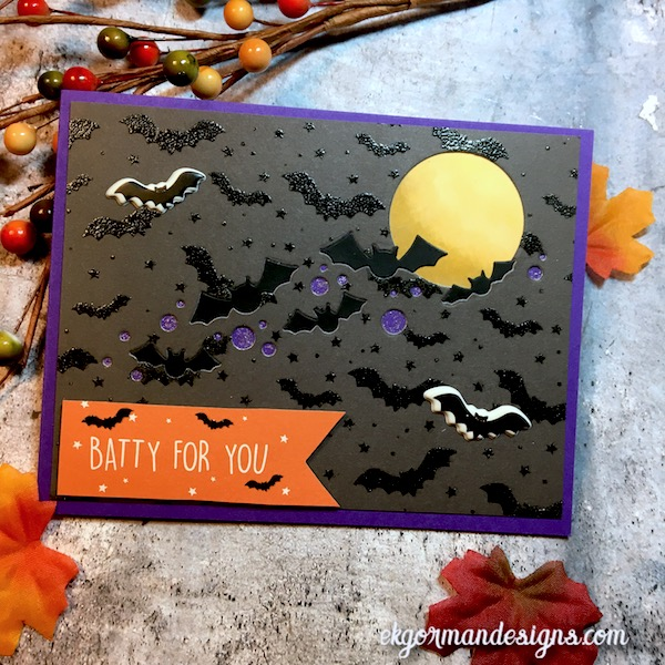 EK Gorman, SSS October Halloween Kit i