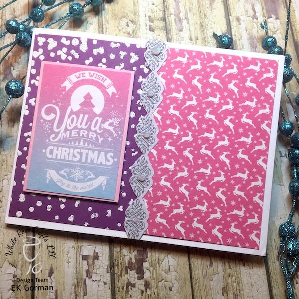 EK Gorman, White Rose Crafts, December Subscription Kit c