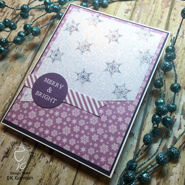 EK Gorman, White Rose Crafts, December Subscription Kit f
