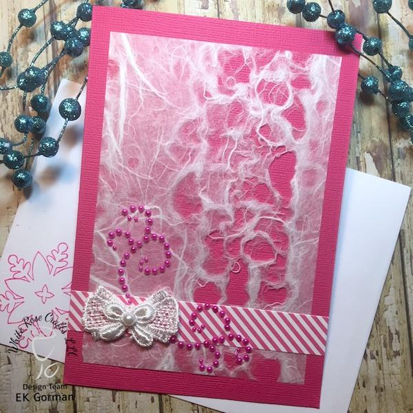 EK Gorman, White Rose Crafts, December Subscription Kit i