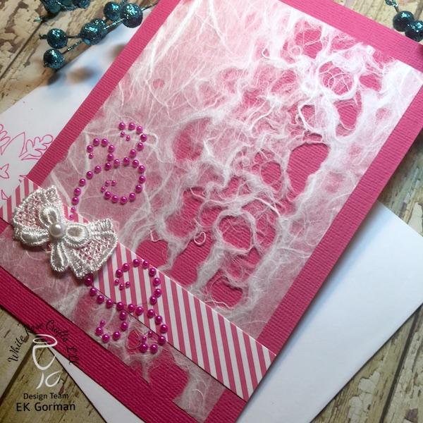EK Gorman, White Rose Crafts, December Subscription Kit j