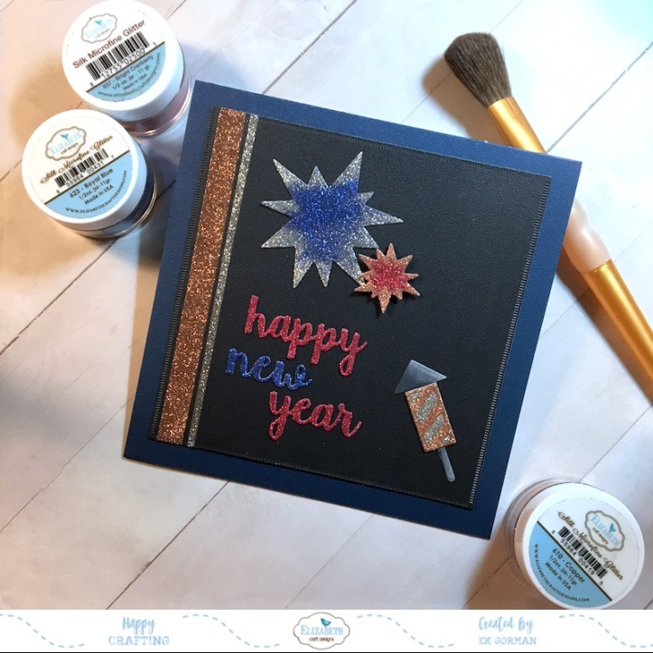 EK Gorman, Elizabeth Craft Designs, Happy New Year c