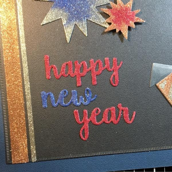 EK Gorman, Elizabeth Craft Designs, Happy New Year l