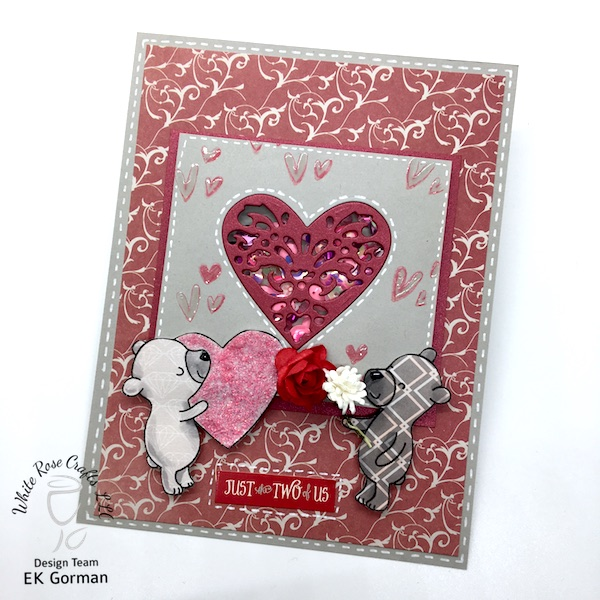 ek gorman, white rose crafts, january add on blog hop a