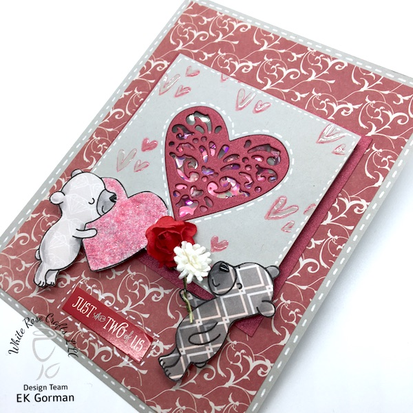 ek gorman, white rose crafts, january add on blog hop b