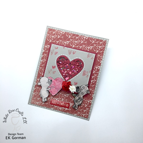 ek gorman, white rose crafts, january add on blog hop c