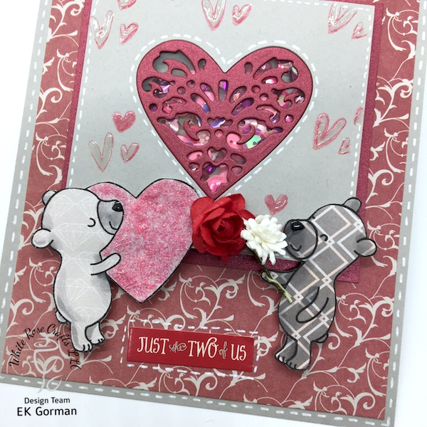 ek gorman, white rose crafts, january add on blog hop d