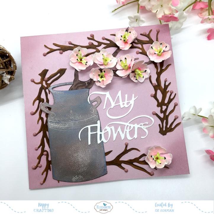 EK Gorman, Elizabeth Craft Designs cherry bloosom a