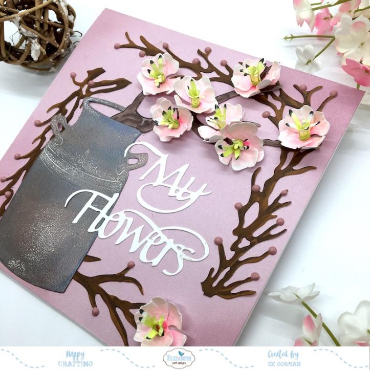 EK Gorman, Elizabeth Craft Designs cherry bloosom b