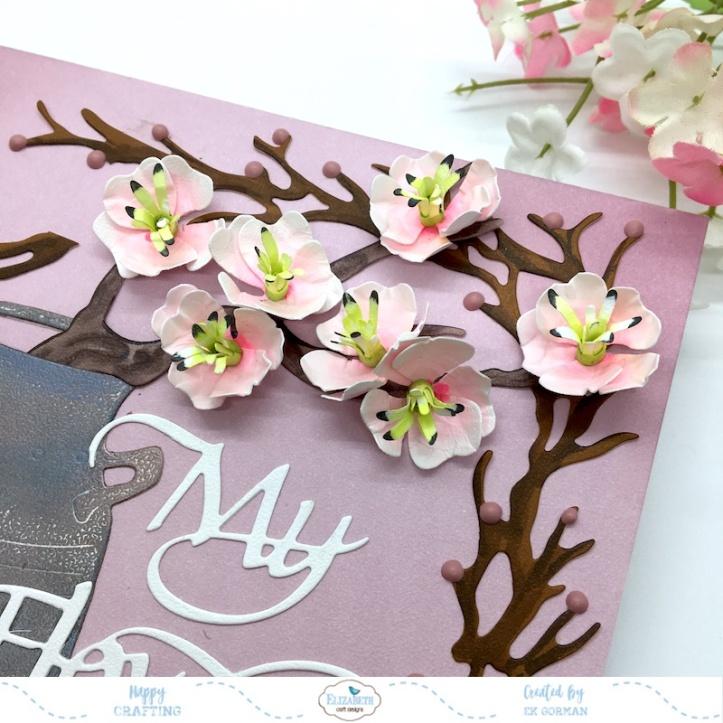 EK Gorman, Elizabeth Craft Designs cherry bloosom c