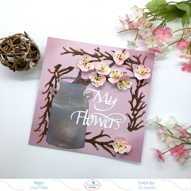 EK Gorman, Elizabeth Craft Designs cherry bloosom e