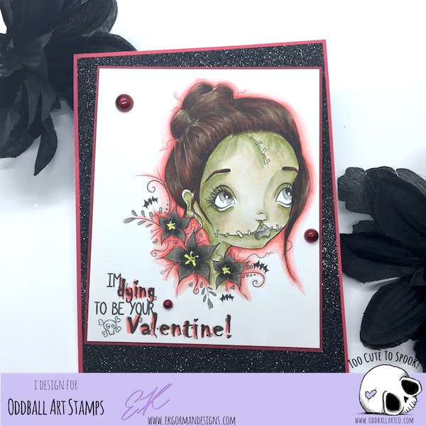 EK Gorman, Oddball Art 2:12 zombies need love too c