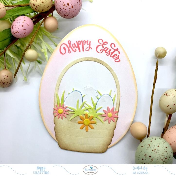 EK Gorman, Elizabeth Craft Designs April Easter a