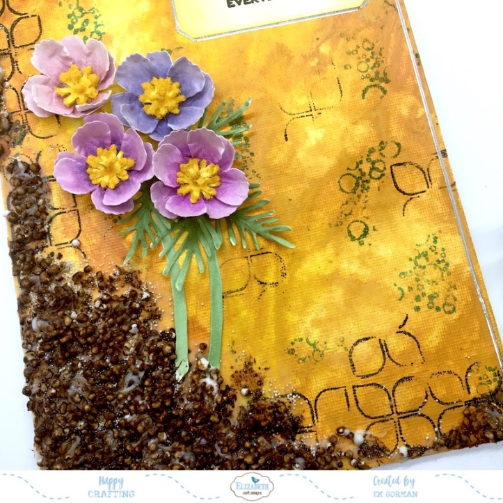 EK Gorman, Elizabeth Craft Designs, Cosmos canvas d