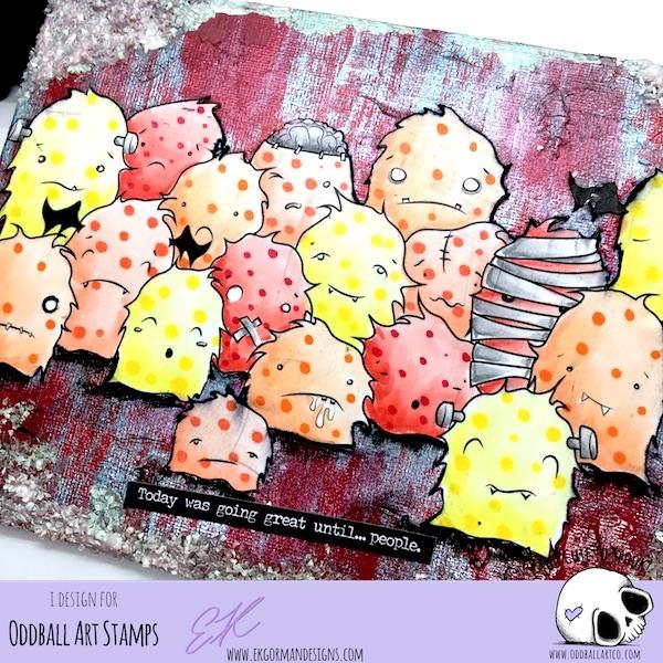 EK Gorman, Oddball Art March Challenge reminder b