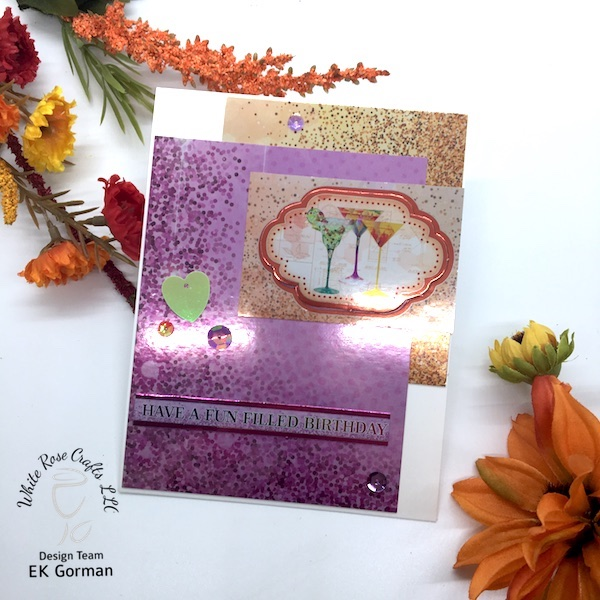 EK Gorman, White Rose Crafts Easy Cards a