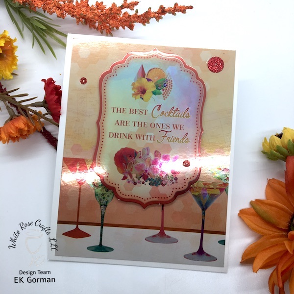EK Gorman, White Rose Crafts Easy Cards d