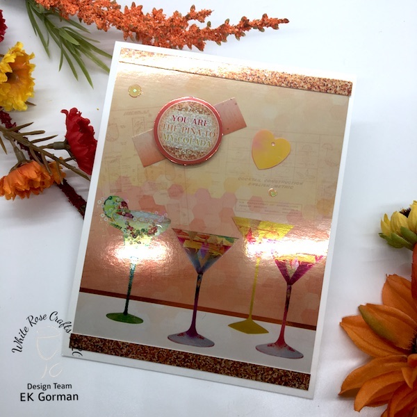 EK Gorman, White Rose Crafts Easy Cards e